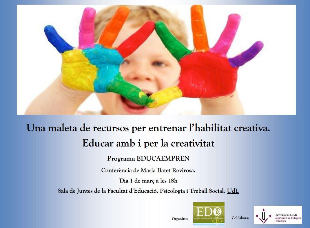 Conferència de Maria Batet Rovirosa